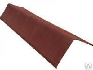 Щипцовый профиль Ондулин 1100мм красный