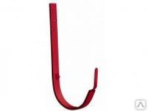 RAL-3005 Крюк крепления длинный D125/D90, красное вино GRAND LINE