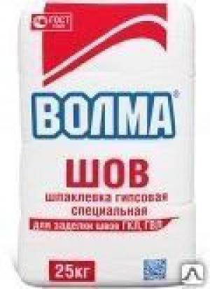 ВОЛМА-ШОВ гипсовая отделочная (25кг)