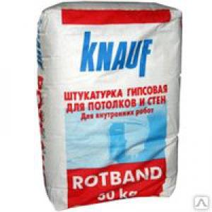 КНАУФ штукатурка Ротбанд (30кг)