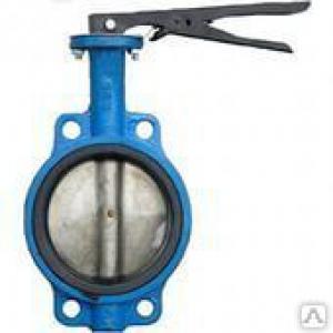 Затвор дисковый поворотный (Ду 125) чугунный