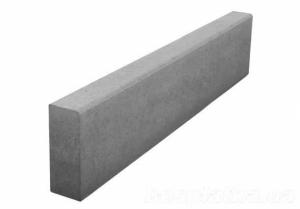 Бордюр тротуарный 1000-220-80 серый