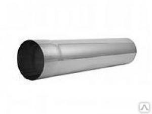 RAL-9003 Круглая труба D125/D90, L=3м белый GRAND LINE