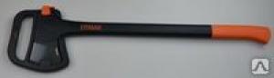 Топор усиленный колун 1,375гр, 70см, 2-х компонентная рукоятка, лезвие тефлон