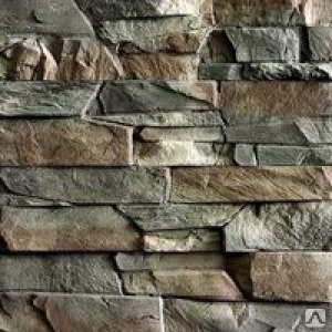 """Плитка фасад """"Рваный камень"""" 264*195 Корич."""
