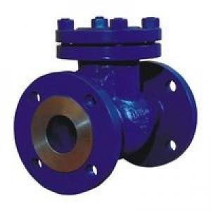 Клапан обратный (Ду 150) поворотный, фланцевый