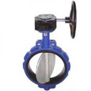 Затвор дисковый поворотный (Ду 400) с редуктором