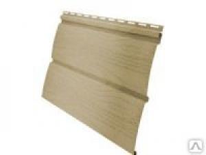 Виниловый сайдинг Блок-хаус 3000 х 0,244 Grand Line® (карамельный)