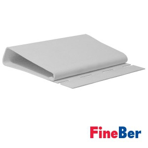J-профиль FineBer Широкий 3660 мм (белый)