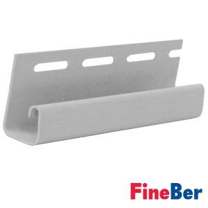 J-профиль FineBer белый 3660 мм