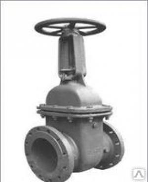 Задвижка стальная (Ду 400) клиновая с выдвижным шпинделем 30с41нж Ру16, t