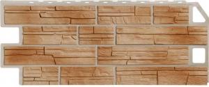 Фасадная панель FineBer 1137*470мм Сланец (терракотовый)