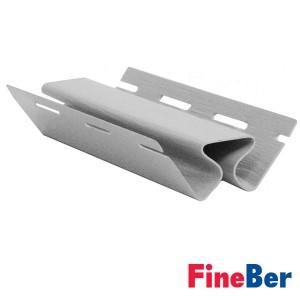 Внутренний угол FineBer серо-голубой 3050 мм