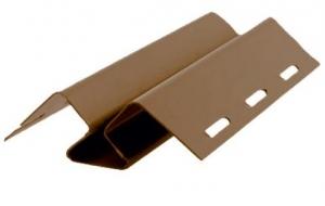 Внутренний угол FineBer для фасадных панелей коричневый 3000 мм