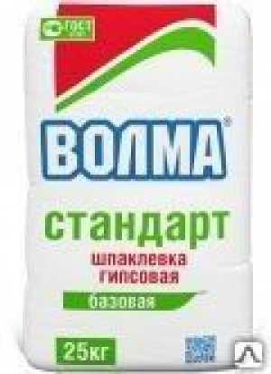 ВОЛМА-СТАНДАРТ гипсовая отделочная (25кг)