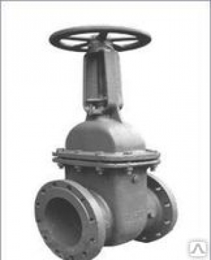 Задвижка стальная (Ду 150) клиновая с выдвижным шпинделем 30с41нж Ру16, t