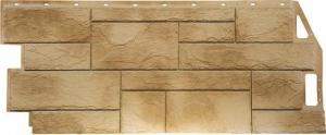 Фасадная панель FineBer 1085*447мм Камень Природный Песочный