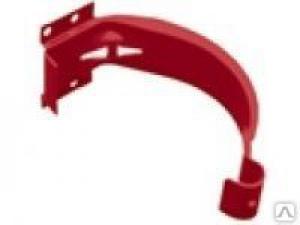 RAL-3005 Крюк крепления короткий D125/D90, красное вино GRAND LINE