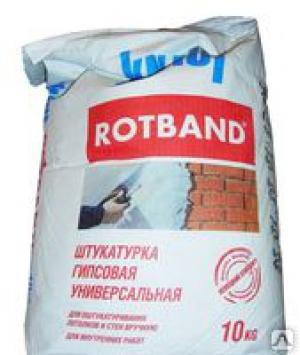 КНАУФ штукатурка Ротбанд (10кг)