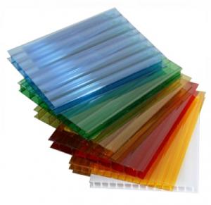 8мм.  Размер листа 2,1х6м (2,1х12м) Полигаль цветной