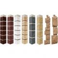 Наружный угол FineBer к фасадной панели Камень Природный (Серо-коричневый)