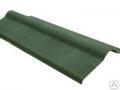 Конек Ондулин 1000мм зеленый