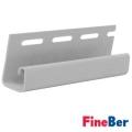 J-профиль FineBer для фасадных панелей 3000 мм (Серый)