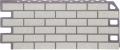 Фасадная панель FineBer 1137*470мм Кирпич Мелованный белый