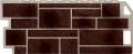 Фасадная панель FineBer 1137*470мм Камень (Коричневый)