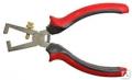 Плоскогубцы для зачистки проводов 160 мм полированные ЕКТО